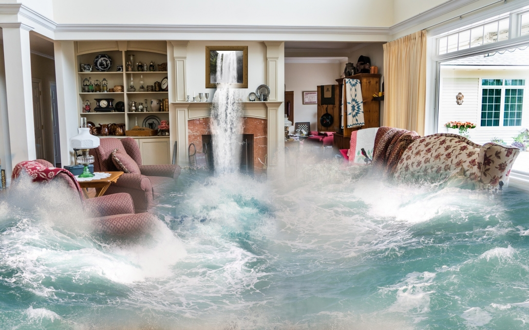 Living Room Flooding