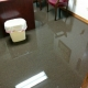 office flooding after water heater leak