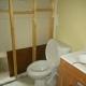 Bathroom Repair after Water Heater Leak