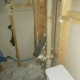 Damage caused by water heater link at Seibert office