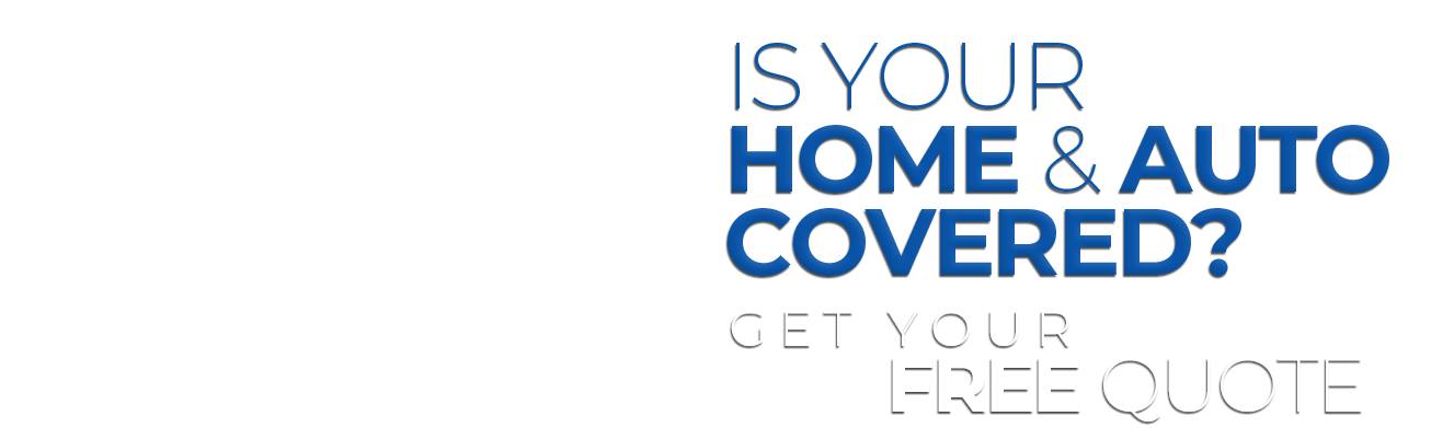 Is your home & auto covered graphic